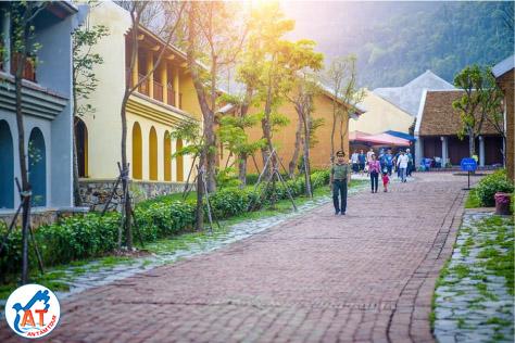 DU LỊCH YÊN TỬ - CHÙA BA VÀNG 2 NGÀY 1 ĐÊM | khu nghỉ dưỡng Yên Tử