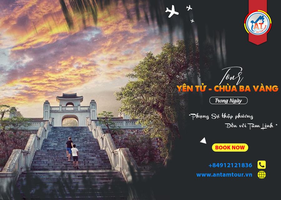 Tour Chùa Ba Vàng - Yên Tử lễ phật đầu năm